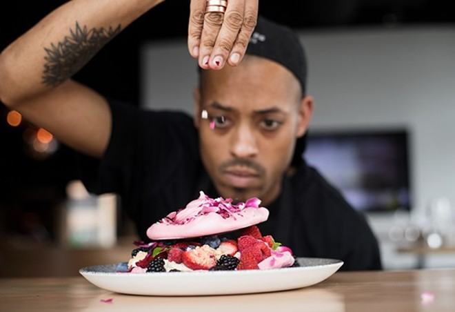 Chef Tyler Davis will host a talk and book signing at Left Bank Books on December 14. - MABEL SUEN