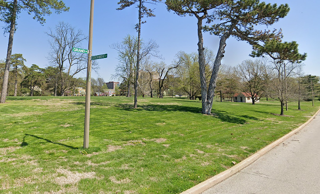 The robbery happened on Monday morning near 5175 Grand Drive inside the park. - VIA GOOGLE MAPS
