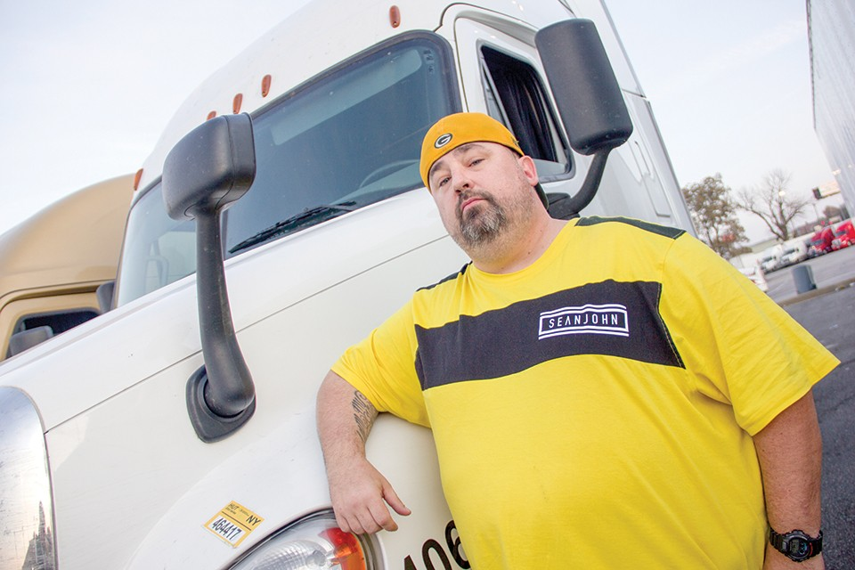 Anthony Greene runs Truckers Against Predators.