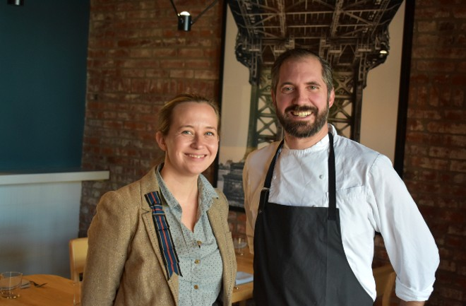 Mowgli and Craig Rivard, owners of Little Fox. - LIZ MILLER