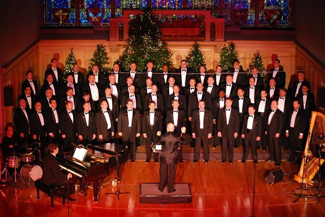 The Gateway Men's Chorus presents its annual holiday show this weekend. - FILE PHOTO