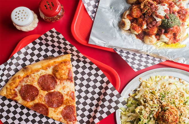 Loaded up with thoughtful and fun toppings, slices at Pie Guy are pure magic. - MABEL SUEN
