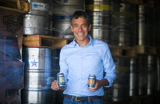 WellBeing Brewing Co. founder Jeff Stevens developed N/A beer that tastes like the real thing. - JEN WEST