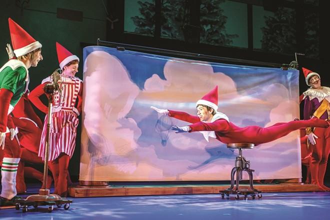 The Elf breaks from of his shelf in a new musical. - KEN EK