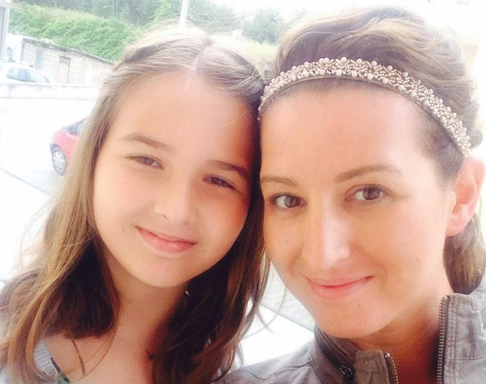 Erna Grbic and her daughter Ayla in 2014. - FACEBOOK