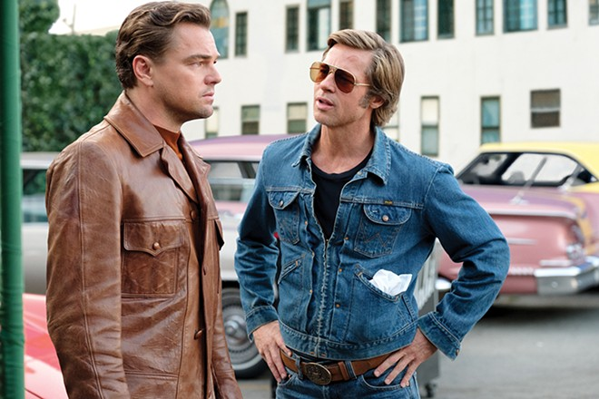 Leonardo and Brad lookin' good in Tarantino's first mature work. - ANDREW COOPER © 2019 CTMG, INC.