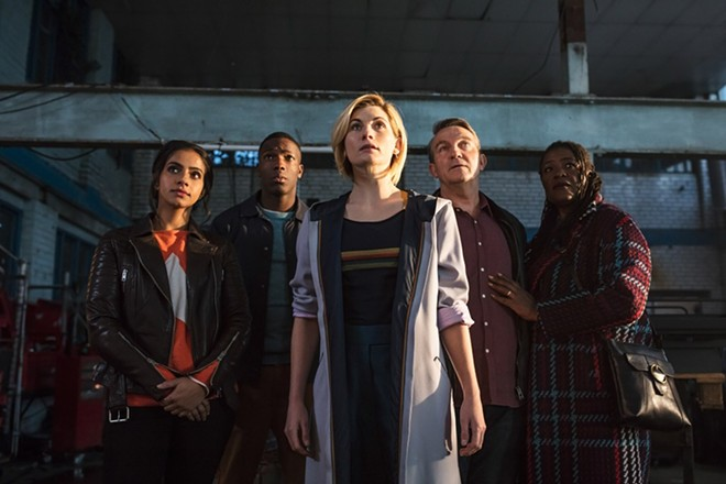 Jodie Whittaker and the gang start a new season of adventures in space and time. - COURTESY OF FATHOM EVENTS