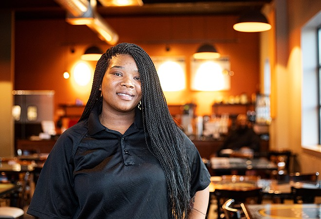 Flavia Moore is the chef-owner of Crawling Crab. - MABEL SUEN