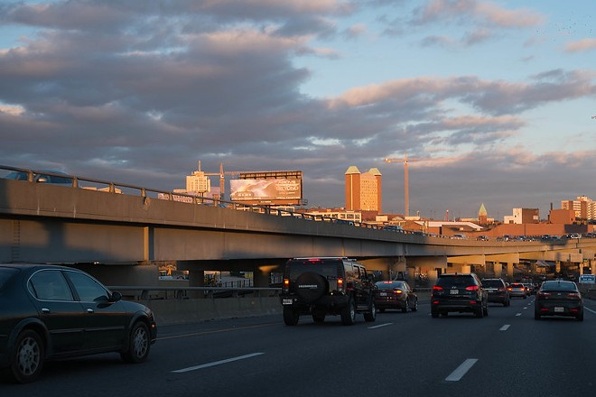 Everybody is going to be driving east soon. - PAUL SABLEMAN / FLICKR