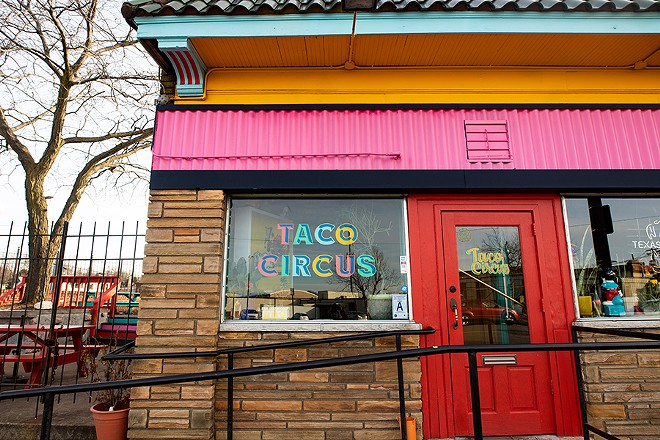 Now located in the Southwest Garden neighborhood, Taco Circus is bigger and better than ever. - MABEL SUEN