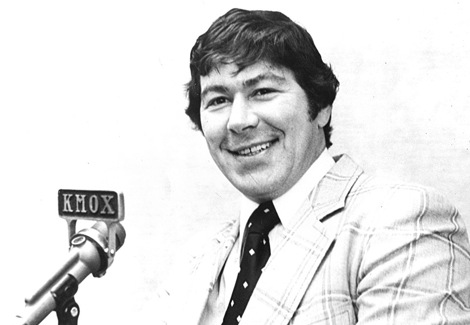 Noel Picard was great on the ice and even better on the mic. - COURTESY OF THE ST. LOUIS BLUES