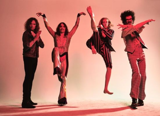 The Darkness will perfrom at the Ready Room on Friday, May 22. - VIA WILLFUL PUBLICITY