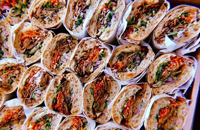 Zenwich will specialize in gourmet Asian-inspired sandwiches and ramen. - COURTESY CHAI PLOENTHAM