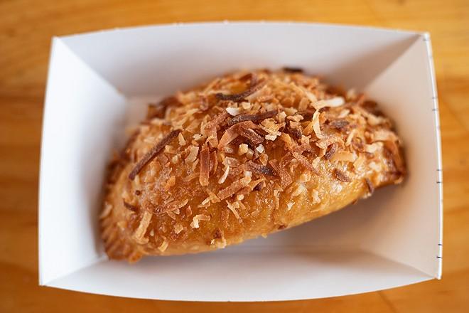 Coconut cream hand pie. - MABEL SUEN