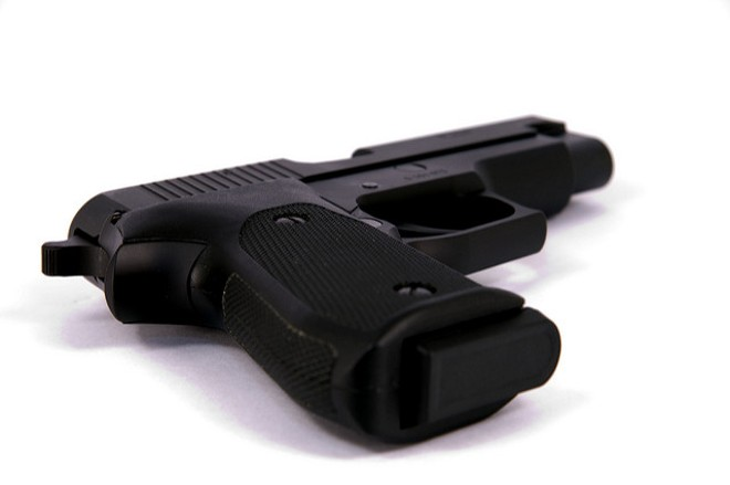 A ten-year-old found a stolen gun outside his house and accidentally shot himself, police say. - PHOTO VIA KEN / FLICKR