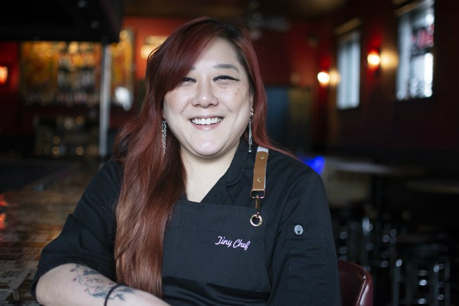 Melanie Meyer runs Tiny Chef inside the Silver Ballroom. - ANDY PAULISSEN