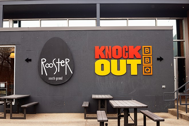 Knockout BBQ is located on South Grand in the same space as Rooster. - MABEL SUEN