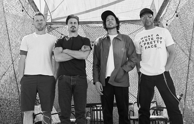 Rage Against the Machine is returning to St. Louis. - VIA THE ARTIST