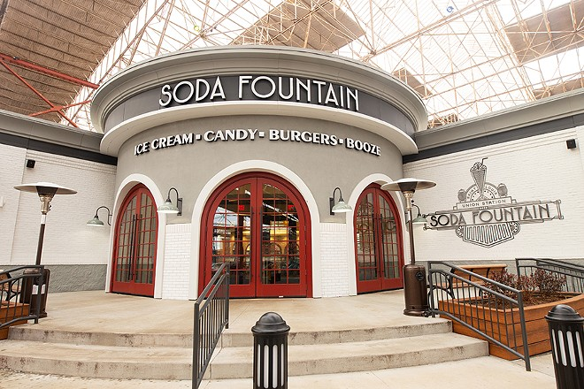 The Soda Fountain is located at Union Station in downtown St. Louis. - MABEL SUEN