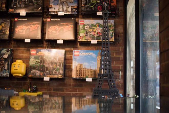 In addition to minifgs, the shop stocks a full range of LEGO sets. - TRENTON ALMGREN-DAVIS