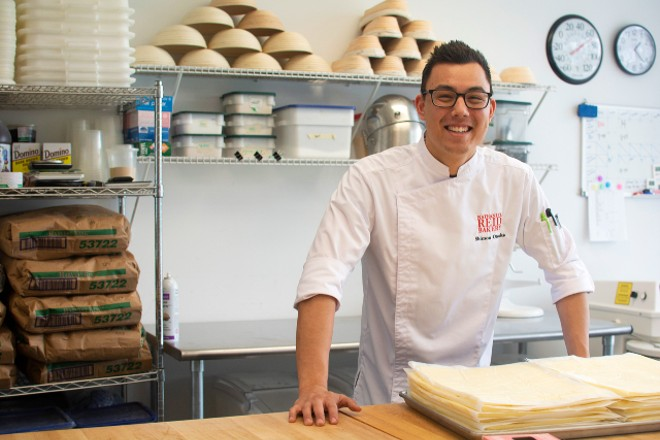 Shimon Otsuka is kitchen manager at Nathaniel Reid Bakery. - ANDY PAULISSEN