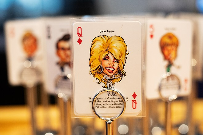 Place your order at the counter and a cashier will hand you a card instead of an order number, with each card depicting caricatures of different country music stars (think Hank Williams, Reba McEntire and Dolly Parton). - MABEL SUEN