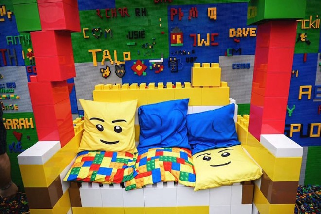 It's time to bust out those childhood LEGO sets. - COURTESY THE BRICK BAR