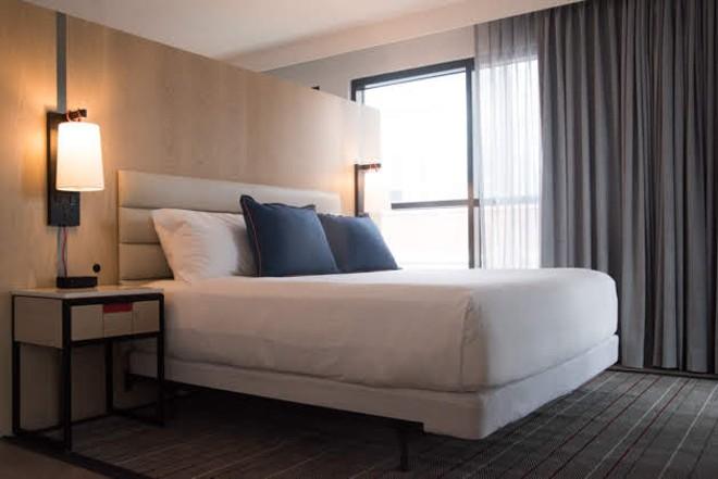 One of the hotel's 216 rooms. - TRENTON ALMGREN-DAVIS