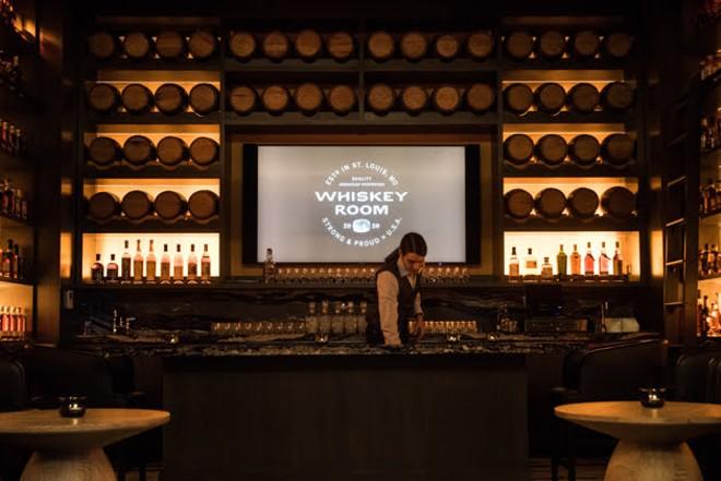 The Whiskey Room at Bar Bourbon inside Live! By Loews. - TRENTON ALMGREN-DAVIS