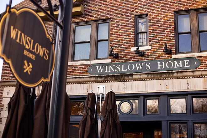 Winslow's Table is located in University City. - MABEL SUEN