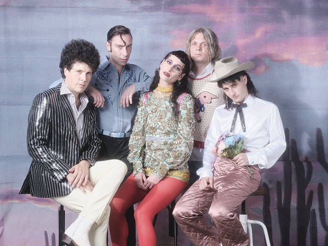The Black Lips will perform at the Duck Room Tuesday, March 10. - DANI PUJALTE