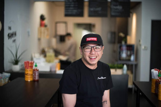 The Bánh Mì Shop owner Jimmy Trinh. - TRENTON ALMGREN-DAVIS