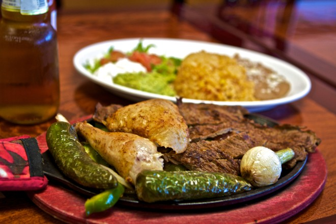 A selection of the authentic Mexican fare at Taqueria Durango. - RFT ARCHIVE