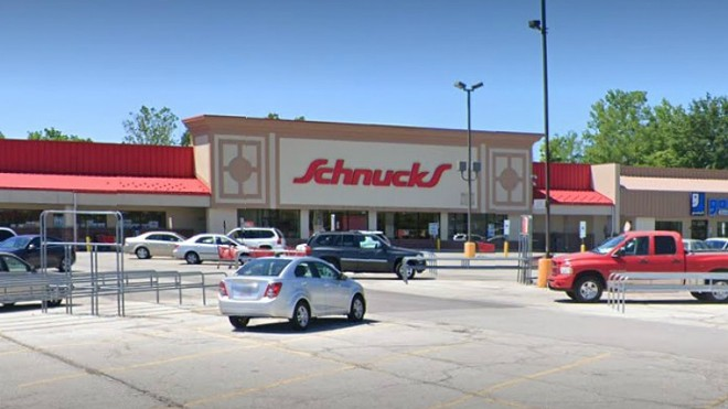 The Oakwood location is one of the Schnucks sites that is temporarily closing. - SCREENGRAB VIA GOOGLE MAPS