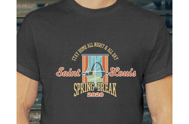 Kellie Lynch will sell these shirts on her Etsy page until March 31. - COURTESY KELLIE LYNCH