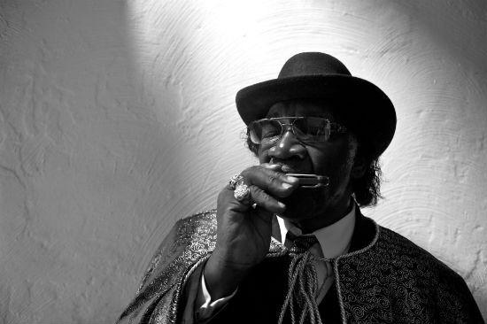 The legendary Big George Brock has passed away. - VIA LOU BOPP