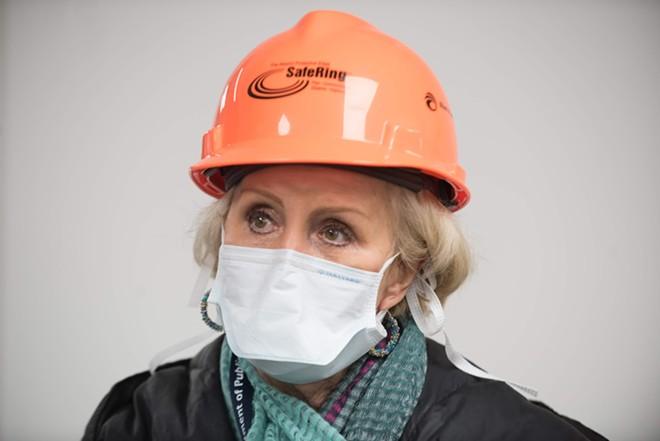 Dr. Mary Case, St. Louis County medical examiner. - TRENTON ALMGREN-DAVIS
