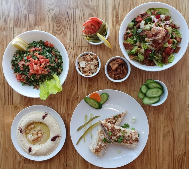American Falafel serves authentic, Jordanian-inflected Middle Eastern Cuisine in University City. - COURTESY OF AMERICAN FALAFEL