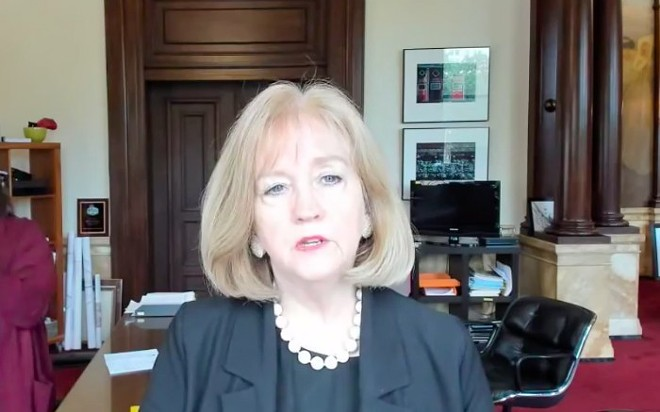 Mayor Lyda Krewson announced today that the curfew has been lifted. - SCREENSHOT