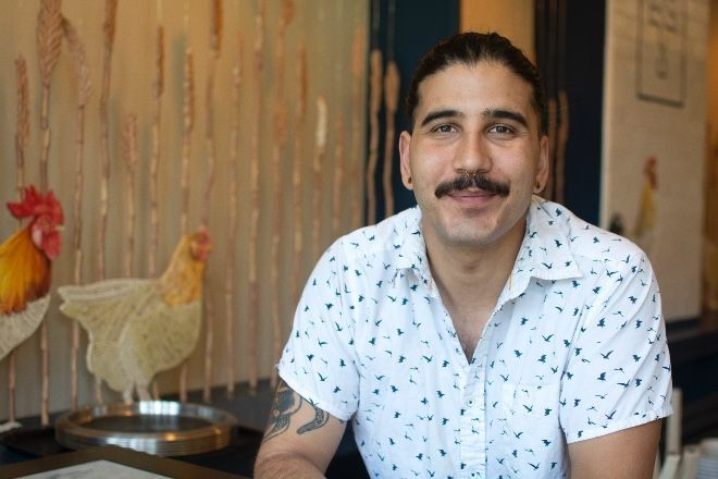 At Winslow's Table, Nick Denietolis finds ways to provide hospitality even in a takeout environment. - ANDY PAULISSEN