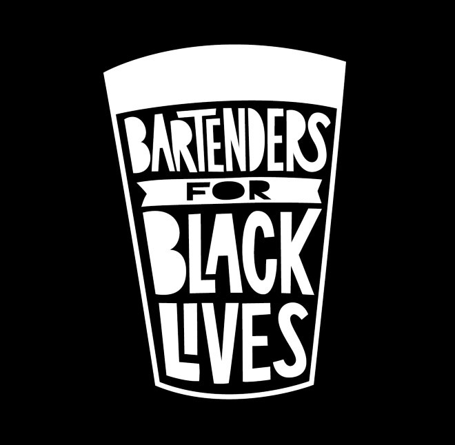 Tiffany Unger is using her skills as a bartender to be an ally. - TINY LITTLE MONSTER DESIGN/BARTENDERS FOR BLACK LIVES
