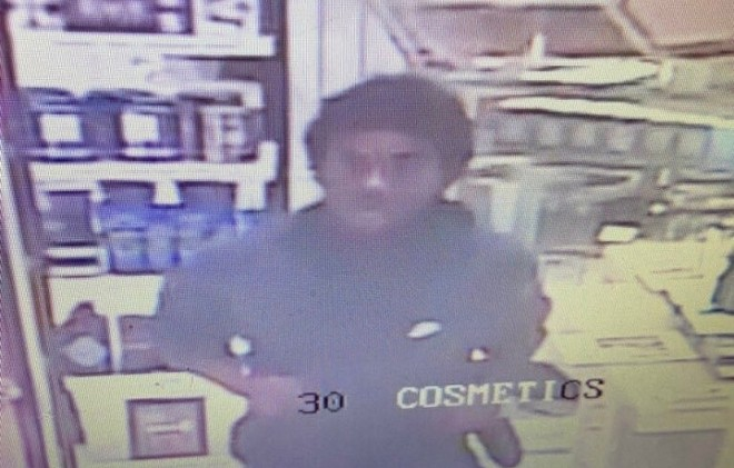 """St. Louis County police say this """"person of interest"""" is now in custody. - COURTESY ST. LOUIS COUNTY POLICE"""