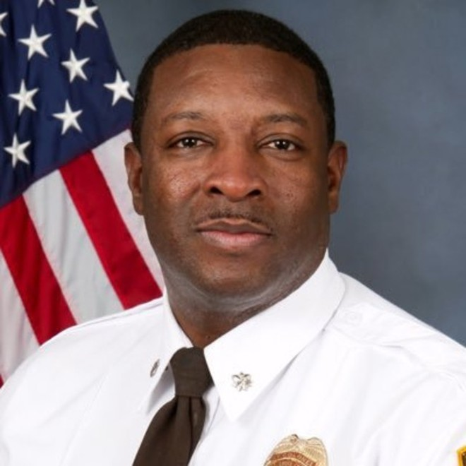 St. Louis County police Lt. Troy Doyle. - OFFICIAL PORTRAIT