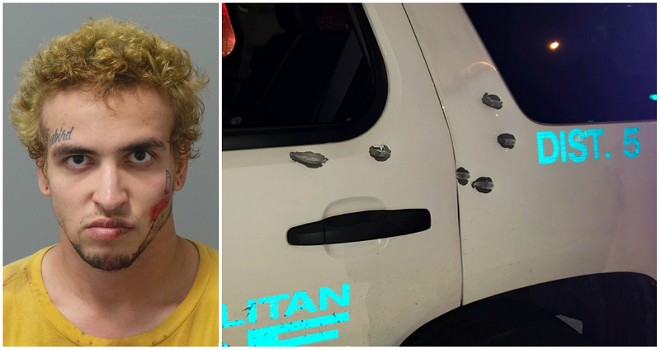Peter Webb is accused of shooting at police vehicles. - COURTESY OF ST. LOUIS POLICE