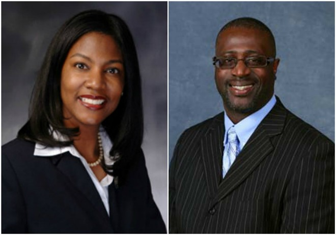 Treasurer Tishaura Jones and Alderman Jeffrey Boyd are familiar foes. - CITY OF ST. LOUIS