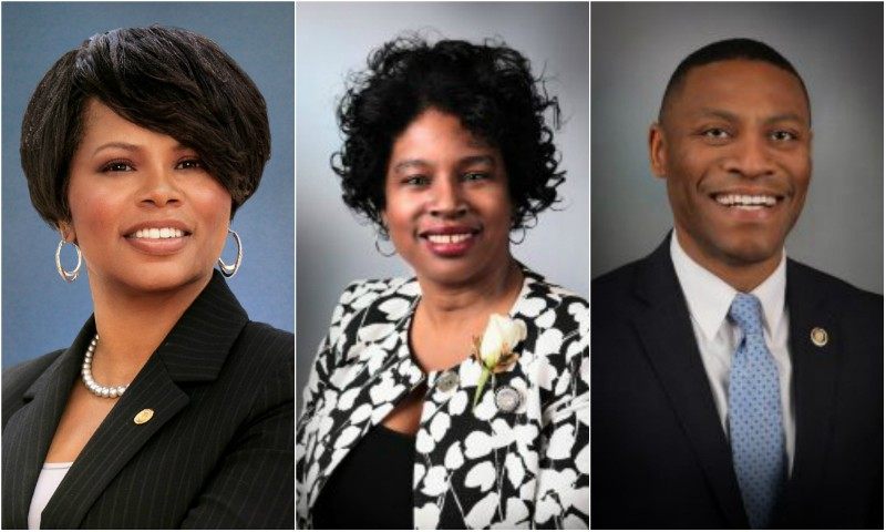 Senators Jamilah Nasheed, Karla May and Brian Williams all voted against Gov. Parson's stunt of a crime bill, but none of their white counterparts did.