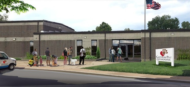 A rendering of Gateway Pet Guardians' facility in East St. Louis. - COURTESY GATEWAY PET GUARDIANS