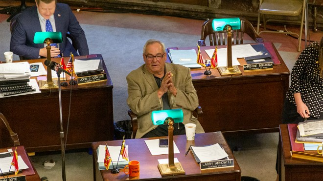 Former St. Louis Alderman Larry Arnowitz was the target of a federal campaign finance investigation. - RYAN GINES