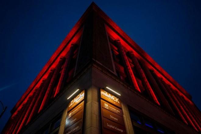 Several venues under the umbrella of the Kranzberg Arts Foundation, including .Zack, participated in the Red Alert Restart campaign. - GINA GRAFOS