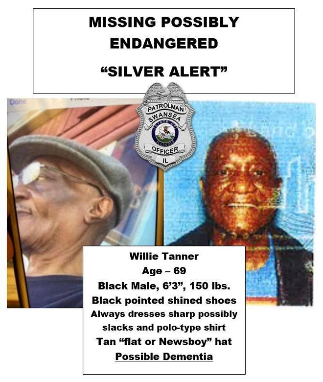 Willie Tanner was found alive after a multi-agency search. - COURTESY SWANSEA POLICE DEPARTMENT